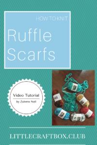 Ruffle Scrafs by Zulema Nall